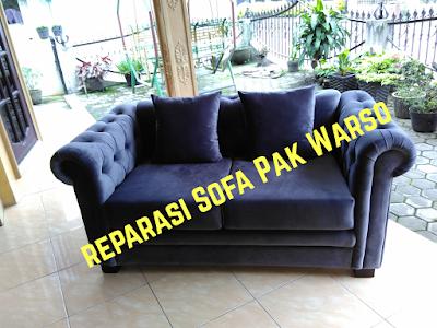 Reparasi Sofa Ala Bpk. Warso