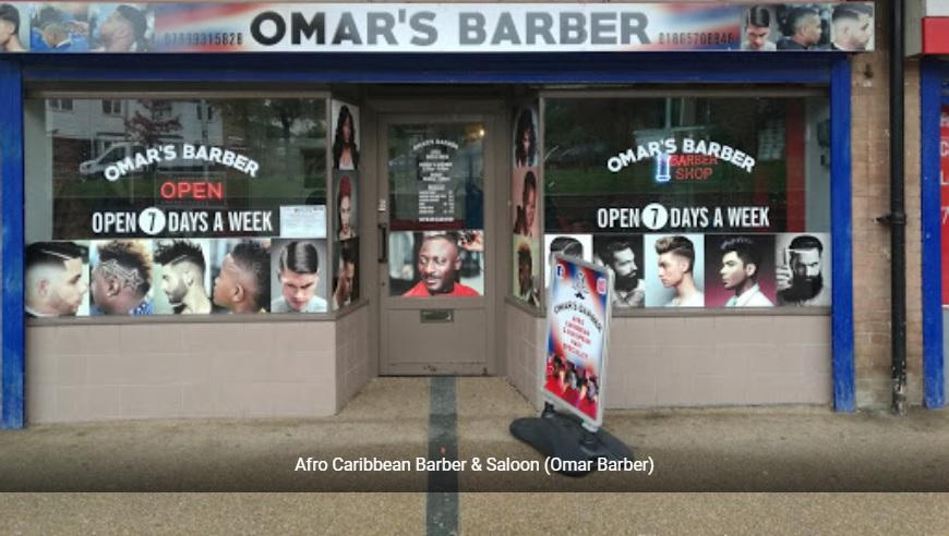 Afro Caribbean Barber & Saloon (Omar Barber)