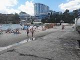 Пляж Чайка в Одессе
