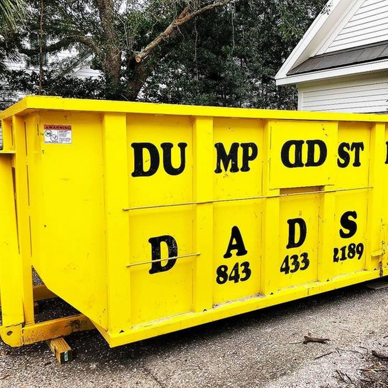 Dumpster Dads Dumpster Rental Charleston SC