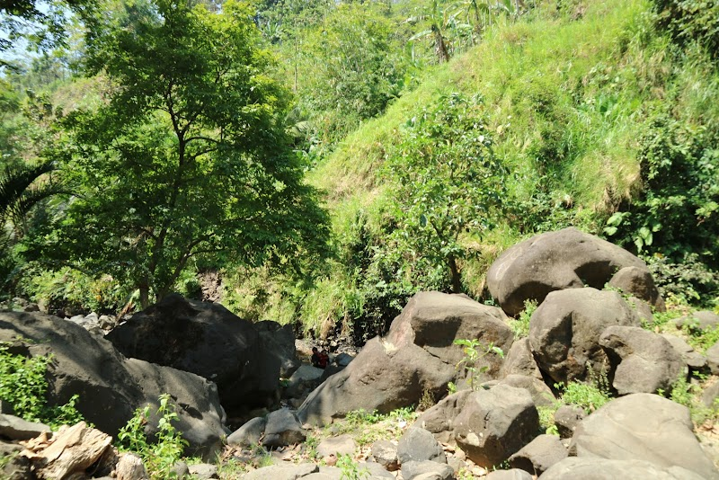 Air Terjun Songgolangit Wisata Jepara Jawa Tengah