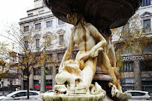 Fontana del Piermarini, Milan, Italy