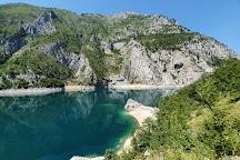 Lake Piva, Plužine, Montenegro