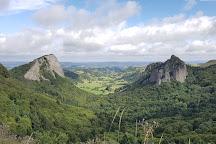 Les Roches Tuiliere et Sanadoire, Aydat, France
