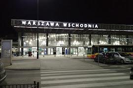 Станция  Warszawa Zachodnia peron 3