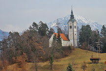 Church of St. Andrew, Bled, Slovenia