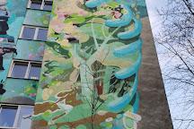 Fragment of Ghetto Wall, Warsaw, Poland