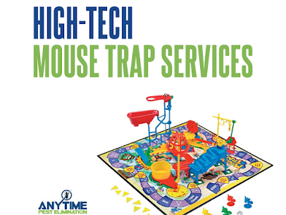 Hi Tech Mouse Traps By Anytime Pest Elimination
