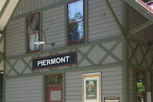 Piermont Train Station and the Erie Path, Piermont, United States