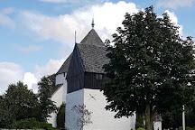 Osterlars Rundkirke, Gudhjem, Denmark