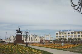 Железнодорожная станция  Kyzylorda