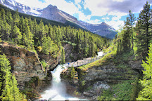 Blakiston falls, Waterton Lakes National Park, Canada