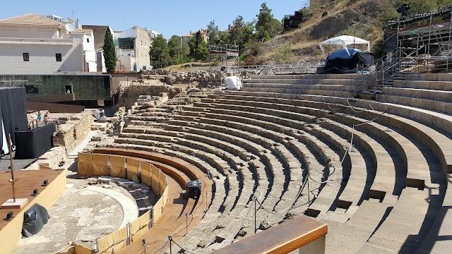 Roman Theater - Alcazaba