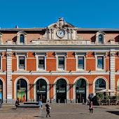 Train Station  Madrid Principe Pio