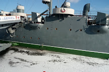 Cruiser Aurora, St. Petersburg, Russia