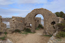 Ruinas da Capela de Santana, Sao Martinho do Porto, Portugal