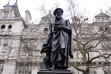 William Tyndale Statue, London, United Kingdom