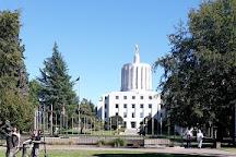 The Oregon World War II Memorial, Salem, United States