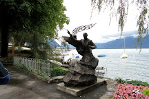 Lakeside Promenade Fleuri, Montreux, Switzerland