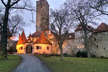 Burgtor und Burg, Rothenburg, Germany
