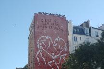 Menilmontant, Paris, France