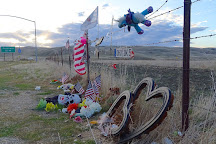 James Dean Memorial Junction, Cholame, United States