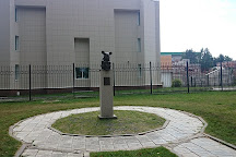 Monument of Laboratory Mice, Novosibirsk, Russia