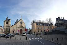 Eglise Saint-Acceul d'Ecouen, Ecouen, France