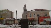 Памятник воеводе Вельяминову на фото Усмани