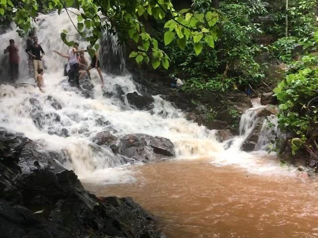Sircaim waterfalls
