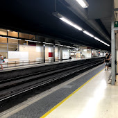 Train Station  Barcelona Sants