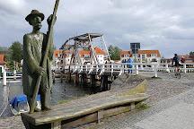 Wiecker Historische Klappbrucke, Greifswald, Germany