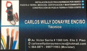 TÉCNICO ELECTRICISTA - CARLOS WILLY DONAYRE 5