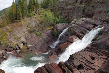 Red Rock Falls, Glacier National Park, Glacier National Park, United States