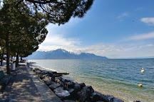 Promenade Sur Les Quais De Montreux, Montreux, Switzerland