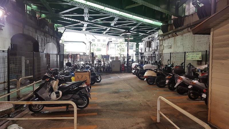 新橋三丁目オートバイ専用駐車場