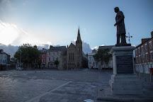 Sir Hugh Owen Statue, Caernarfon, United Kingdom