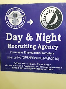 Day and Night recruiting agency and OEP. islamabad