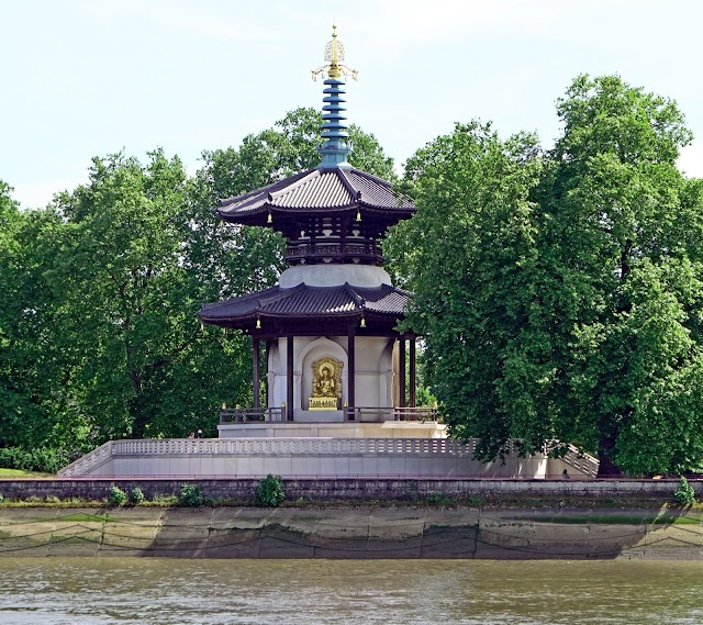 Perfect View Of Battersea Park, Peace Pagoda