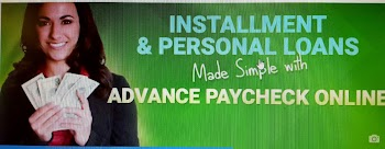 Advance Paycheck Payday Loans Picture