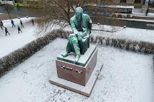 Aleksis Kiven patsas, Helsinki, Finland