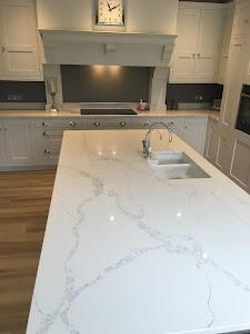 Finch's Marble & Granite ltd. Quartz, ceramics and Stone kitchen worktops