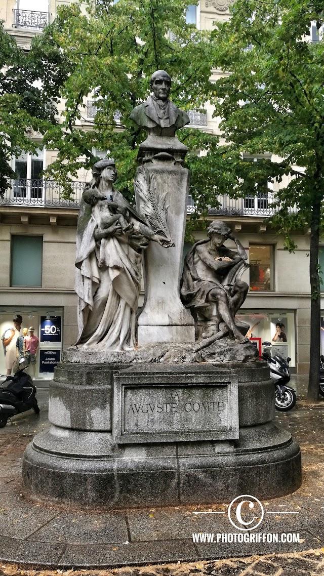 Statue Auguste Comte