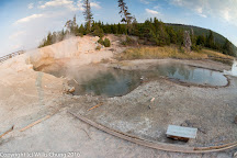 Green Dragon Spring, Yellowstone National Park, United States