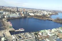 Alster Lakes, Hamburg, Germany