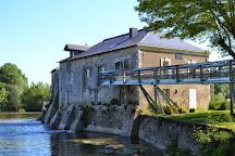 L'engrenage Moulin de Villeveque, Villeveque, France