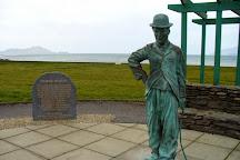 Charlie Chaplin Statue, Waterville, Ireland