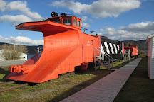 Railway Society of Newfoundland Historic Train Site, Corner Brook, Canada