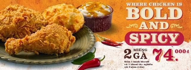 Popeyes Chicken Thao Dien