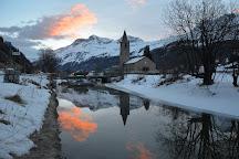 Church of St.Lorenz, Sils im Engadin, Switzerland
